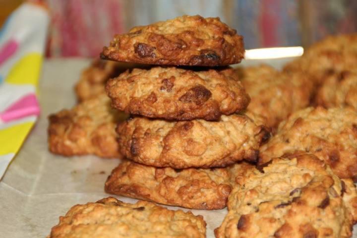 עוגיות צ'אנקי מאנקי טבעוניות שלוואלרי