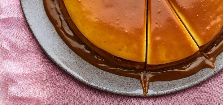 עוגת גבינה, טופיוערמונים